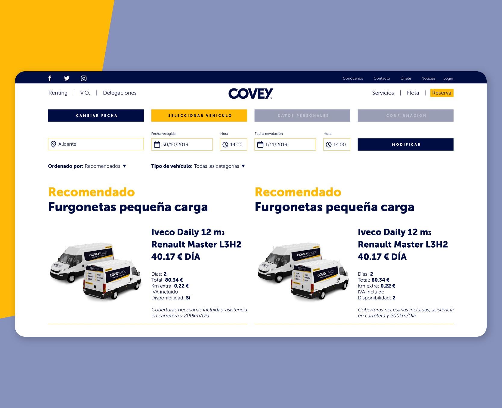 Desarrollo web Covey