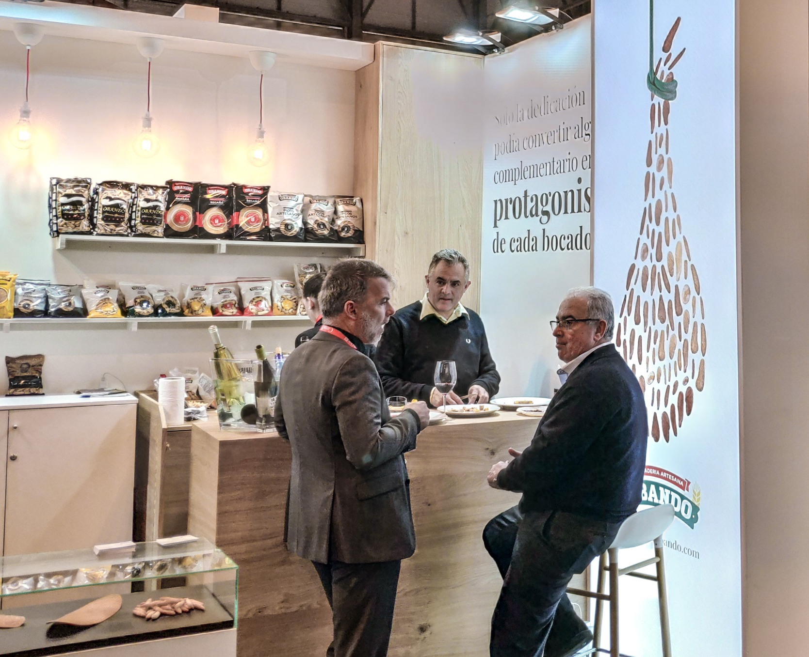 stand feria Madrid Gourmets