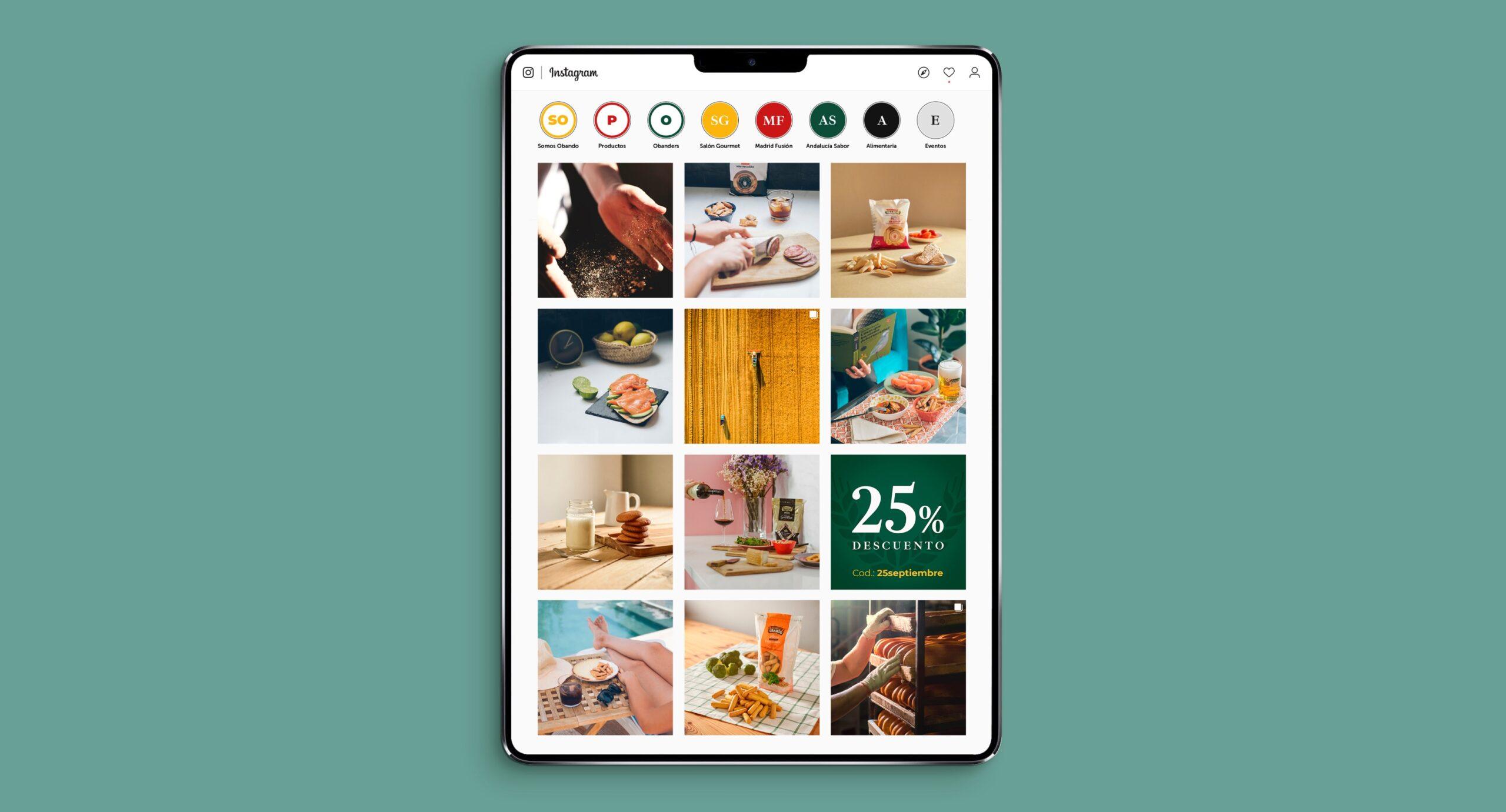 estrategia social media Panadería Obando