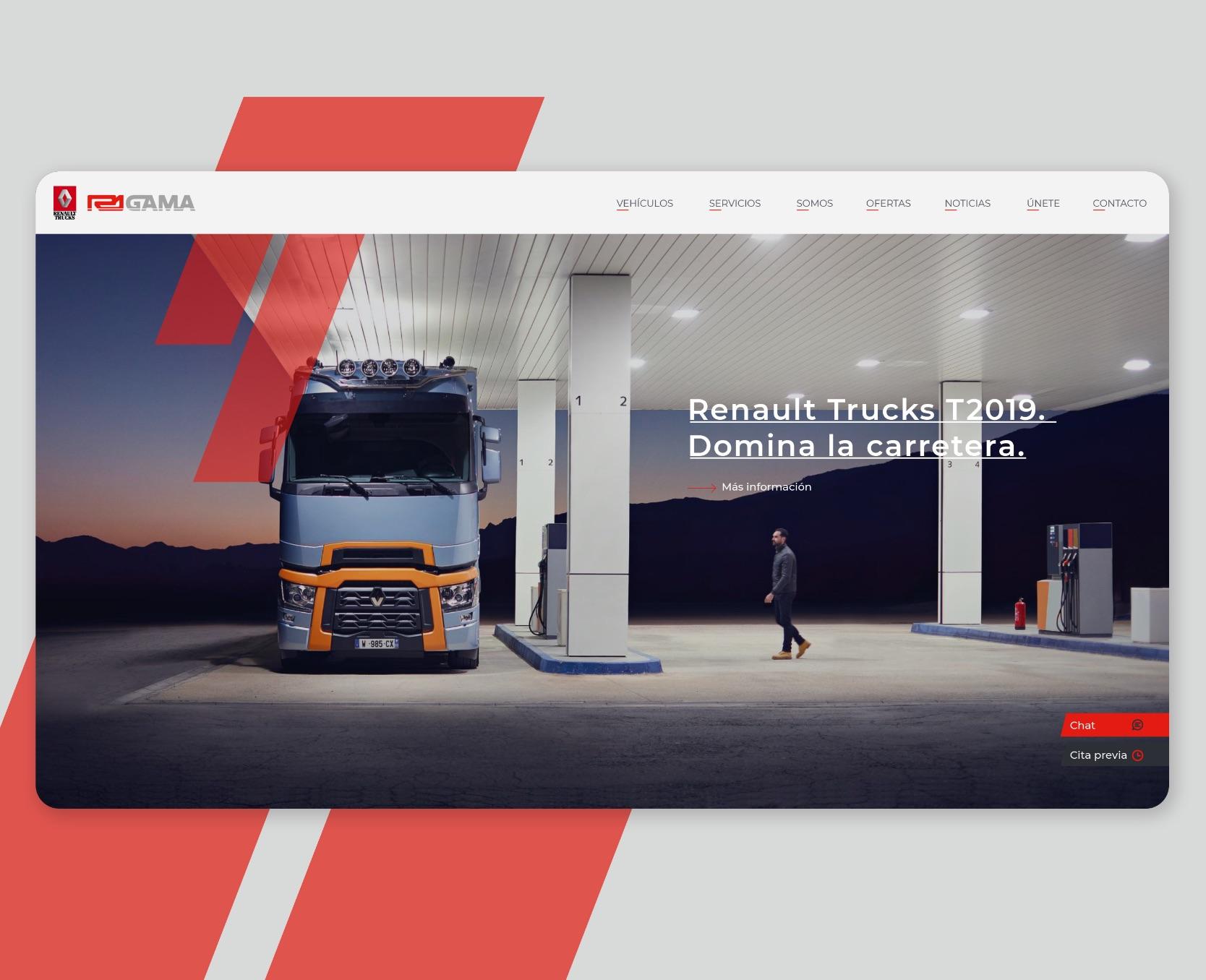 diseño nueva web