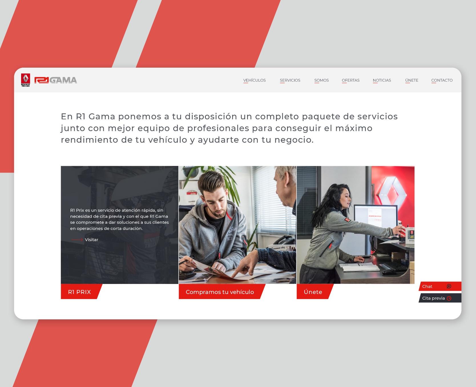 Desarrollo web R1 Gama