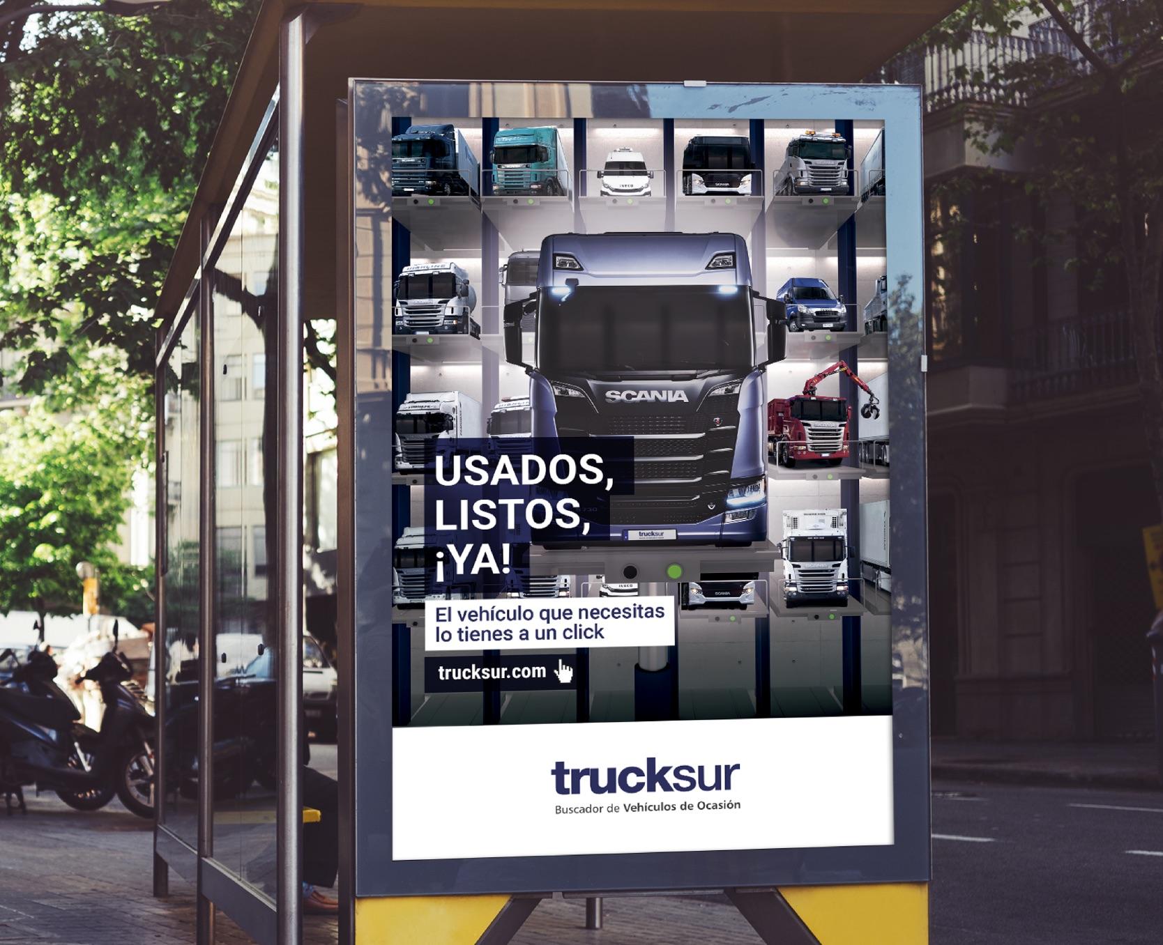 campaña corporativa Trucksur